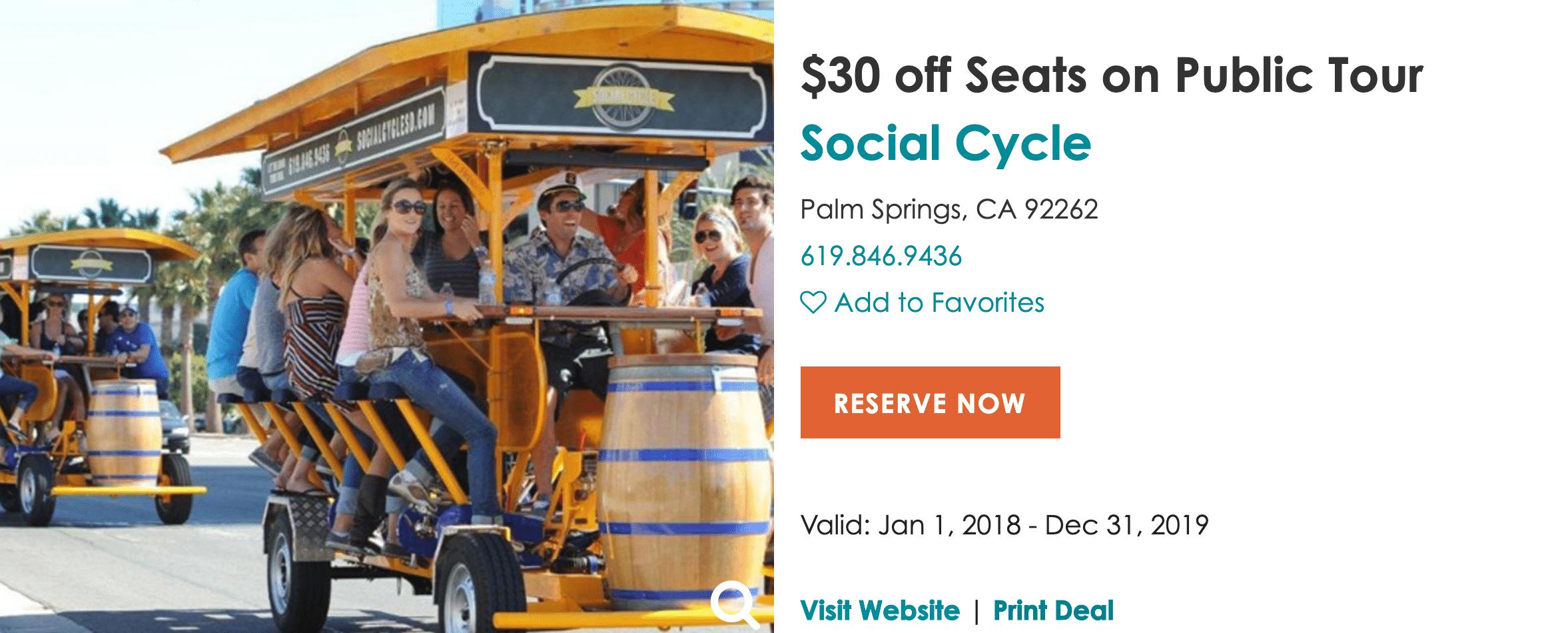 social cycle Coachella Valley Locals